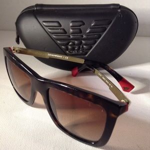 ARMANI - Havana red sunglasses